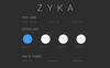 Zyka  - Shopping iOS UI Elements Big Screenshot