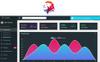 Responsywny szablon panelu admina LionGo - Bootstrap 4 Dashboard #75618 Duży zrzut ekranu