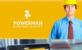 "HTML шаблон ""Powerman - Handyman"""