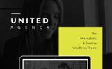 """Responzivní WordPress motiv """"United - Minimal Portfolio"""""""