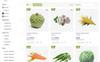 "PrestaShop шаблон ""Organic - Responsive"" Большой скриншот"