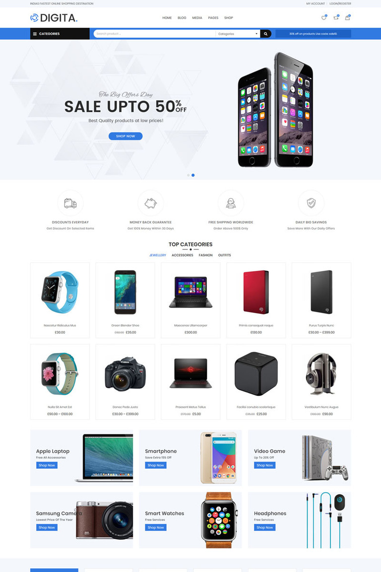 Digita - Electronics WooCommerce Theme