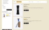 Barbershop Store OpenCart Template Big Screenshot