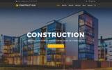 Drupal шаблон на тему будівельна компанія