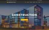 """Construction Company Premium"" Drupal模板"