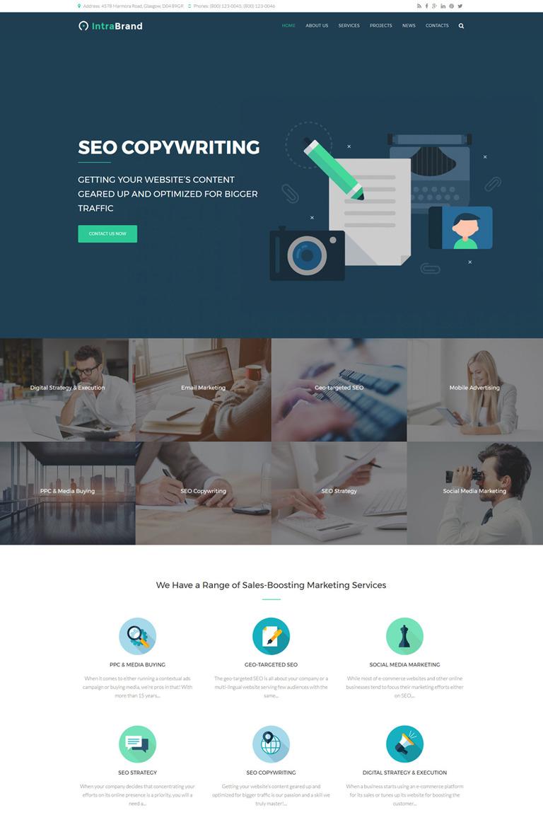 Intrabrand Seo Digital Marketing Agency Premium Drupal Template