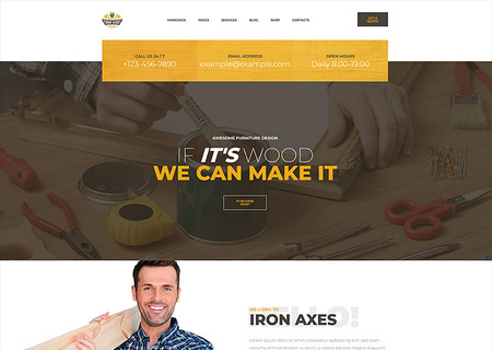 IronAxe Carpentry and Woodwork
