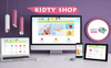 Kidty Shop - For Kid and toy WooCommerce Theme Big Screenshot