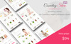 """Cosmeticy Store - Cosmetic, Health and Beauty"" 响应式WooCommerce模板 大的屏幕截图"