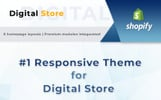 Responsivt Digital - Technology Stores Shopify-tema
