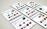 """Digital - Technology Stores"" Responsive Shopify Thema"