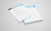 Cyan & Black Letterhead Corporate Identity Template Big Screenshot