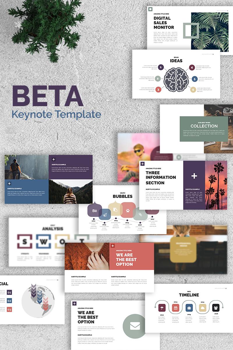 Plantilla Keynote #68564 para Sitio de Agencias de marketing