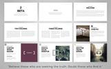 Beta Presentation Keynote Template