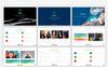 """Luxusní PowerPoint šablona """"Global Presentation"""" Velký screenshot"""