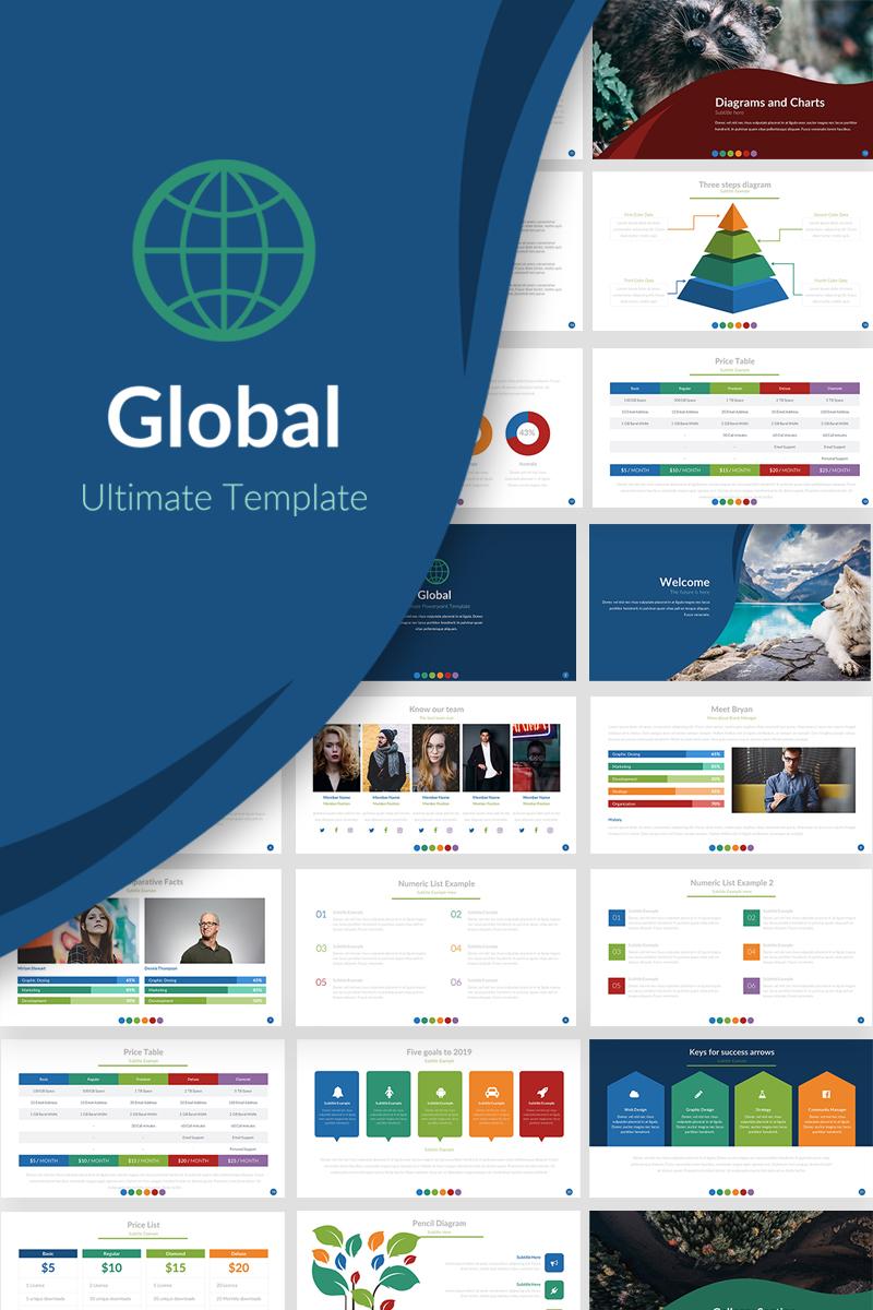 Global presentation powerpoint template 69775 toneelgroepblik Choice Image