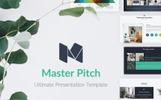 """Luxusní PowerPoint šablona """"Master Pitch"""""""
