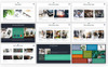 """Luxusní PowerPoint šablona """"Master Pitch"""" Velký screenshot"""