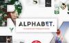 """PowerPoint Vorlage namens """"Alphabet Powerpoint"""" Großer Screenshot"""