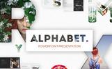 """PowerPoint Vorlage namens """"Alphabet Powerpoint"""""""