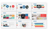 Social Counter PowerPoint Template