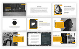 Prémium Launch PowerPoint sablon