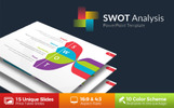 SWOT Infographic Analysis PowerPoint Template
