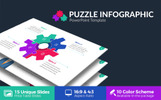 Puzzle Infographic Presentation PowerPoint Template