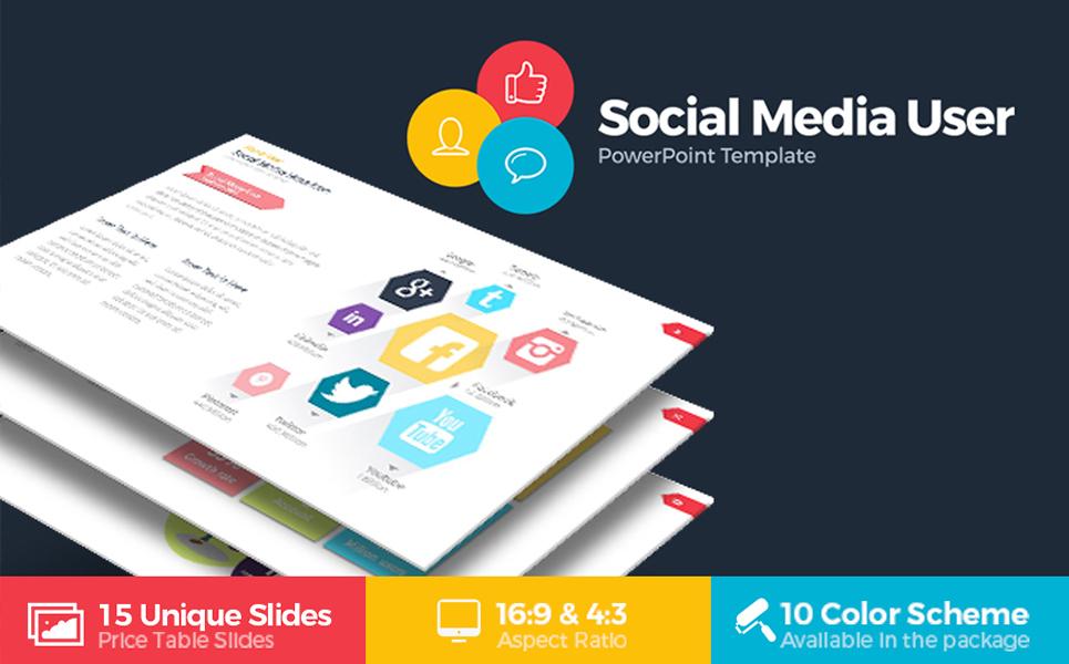 Social media user infographic powerpoint template 68765 social media user infographic powerpoint template big screenshot toneelgroepblik Choice Image