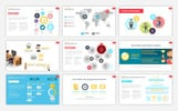 Social Media User Infographic PowerPoint Template