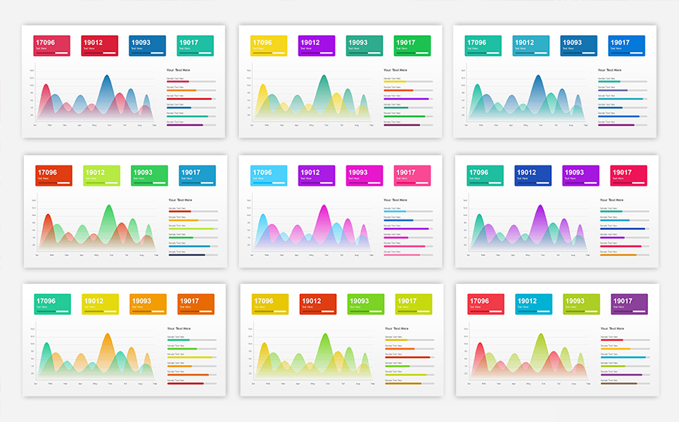 sales dashboard presentation powerpoint template 68711 rh templatemonster com Meeting Presentation Project Portfolio Dashboard Template Excel