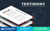 "PowerPoint Vorlage namens ""Testimony Presentation"" Großer Screenshot"