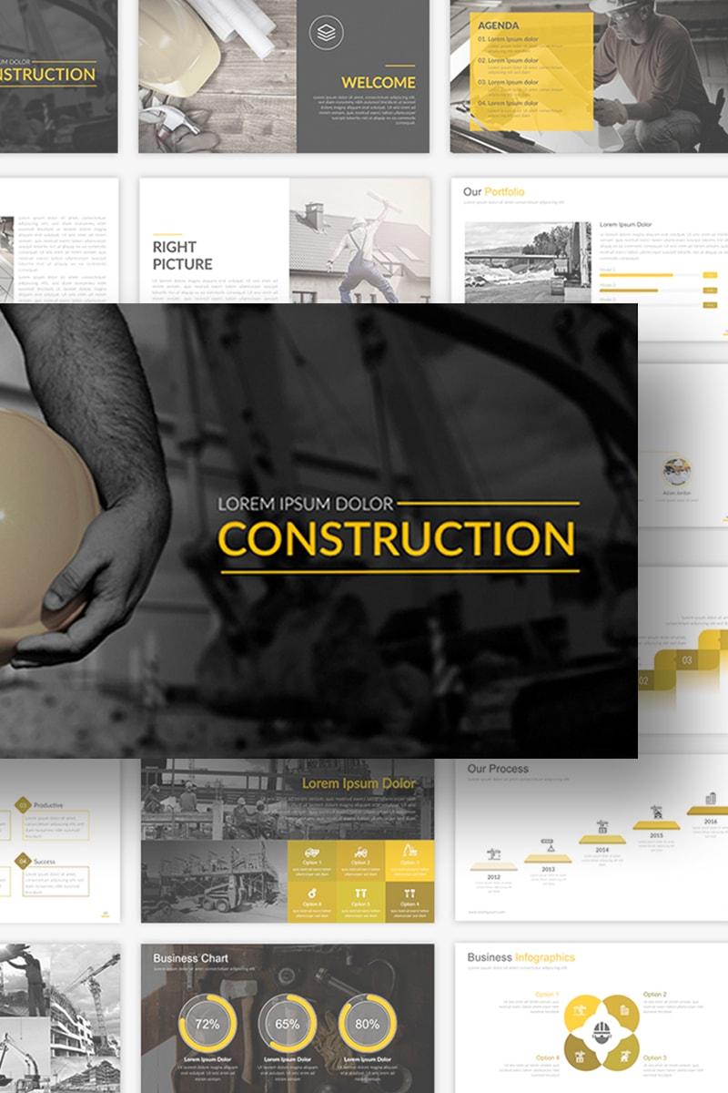PowerPoint Vorlage #69094 für Immobilien
