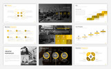 """Construction Presentation"" modèle PowerPoint"