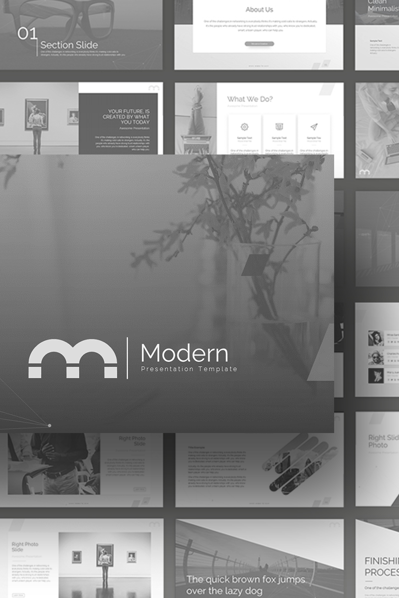 Modern Powerpoint Template 69694