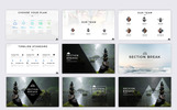 Mount PowerPoint Template