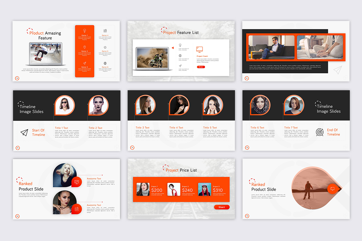 boost project presentation powerpoint template 70839