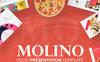 Molino - Food Presentation PowerPoint Template Big Screenshot