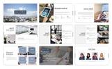 "Modello PowerPoint #74792 ""Accord - Business Presentation"""