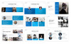Azure - PowerPoint Template Big Screenshot