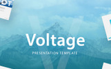 """Voltage - Business Presentation"" PowerPoint 模板"
