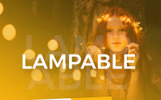 "PowerPoint Vorlage namens ""Lampable - Creative"""