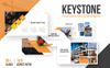 Keystone - Construction PowerPoint Template Big Screenshot