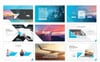 Justice - Airplane Powerpoint Template PowerPoint Template Big Screenshot