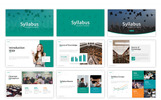 "Template PowerPoint #75517 ""Syllabus - Education"""