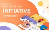"Template PowerPoint #75529 ""Initiative - Creative"""