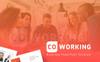 Coworking PowerPoint Template Big Screenshot