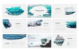 """Modello PowerPoint #75515 """"Adventurous - Brush"""""""