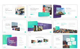 Deliverly - Logistic PowerPoint sablon