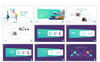 """Tema PowerPoint #79098 """"Deliverly - Logistic"""" Screenshot grande"""